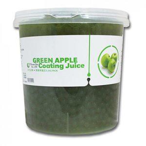 Hạt thuỷ tinh đài loan táo xanh