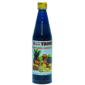 siro trinh cocktal xanh