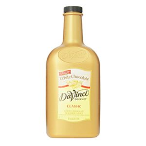 Sauce Davinci White Chocolate