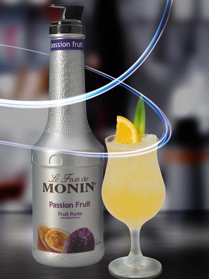 Monin Puree Chanh Dây – chai 1L