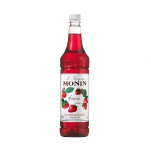 Monin Syrup Strawberry/ Fraise 1L