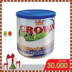 sữa malaysia có đường crown 1 lít
