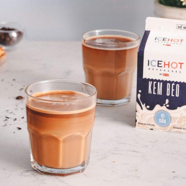 Kem Béo Ice Hot Vị Sữa 500Gr