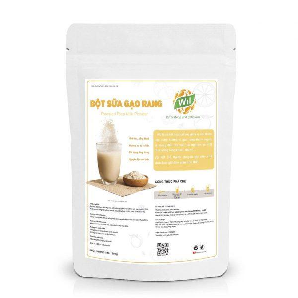 Bột Sữa Gạo Rang Wil 500Gr